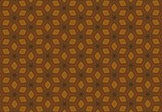 Abstract orange block line fantastic pattern wallpaper Royalty Free Stock Images
