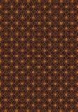 Abstract orange block line fantastic pattern wallpaper Royalty Free Stock Image