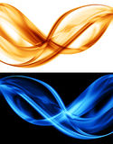 Abstract orange and blue background Royalty Free Stock Image