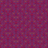 Abstract orange blue pink pattern. Abstract fractal mosaic orange blue pink pattern royalty free illustration