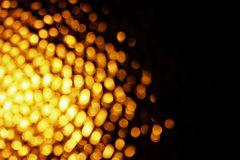 Abstract orange bokeh background Royalty Free Stock Photo