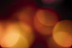 Abstract orange bokeh circles background Royalty Free Stock Photo