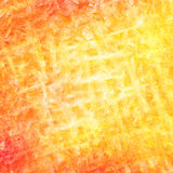Abstract orange brush strokes background Stock Photography