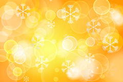 Abstract Orange Christmas Festive background Royalty Free Stock Images