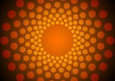 Abstract orange circles Stock Photos
