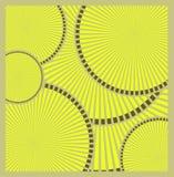 Abstract Orange Circular Technology Background, vector illustration royalty free illustration