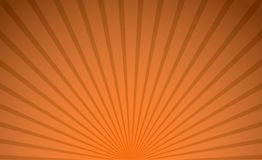 Abstract orange color radial background for halloween theme concept. Vector illustration Stock Photos