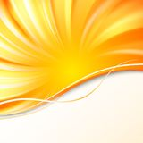 Abstract orange cover. Royalty Free Stock Images