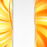 Abstract orange cover. Stock Image