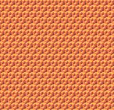 Abstract orange cubes. Seamless pattern background. 3d rendering. Abstract seamless isometric orange cubes. Background pattern. 3d rendering Royalty Free Stock Photography
