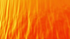 Orange abstract curtain. Abstract orange curtain, 3d animated seamless loop background stock video