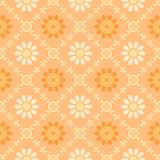 Abstract orange floral pattern. Texture background. Stock Photo