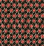 Abstract orange flower pattern wallpaper Royalty Free Stock Photo