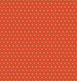 Abstract orange flower pattern wallpaper Royalty Free Stock Image