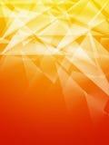 Abstract Orange Geometric Background Stock Image