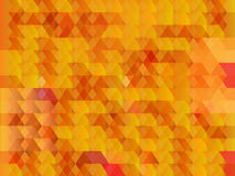 Abstract orange geometric background Royalty Free Stock Photos