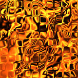 Abstract Orange Glow BackGround Stock Photography