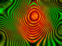 Abstract orange and green background 1 Royalty Free Stock Image