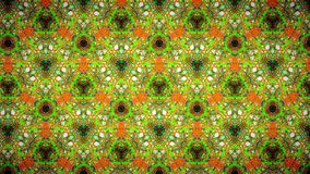 Abstract orange green blue pattern wallpaper Stock Photos