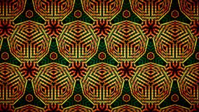 Abstract orange and green color pattern wallpaper Royalty Free Stock Photos