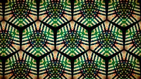 Abstract orange and green color pattern wallpaper Royalty Free Stock Photography