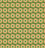 Abstract orange and green color pattern wallpaper Stock Photo
