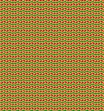 Abstract orange and green color pattern wallpaper Royalty Free Stock Images