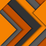 Abstract orange grey triangles background. Vector eps 10 Royalty Free Stock Image