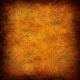 Abstract orange grunge background Stock Photos