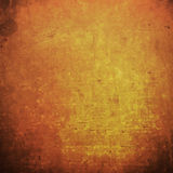 Abstract orange grunge background and thanksgiving vintage grung Stock Photography