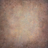 Abstract orange  hand-painted vintage background Royalty Free Stock Images