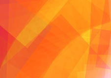 Abstract orange illustration with Rectangle.  illustration Royalty Free Stock Photo