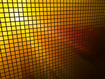 Abstract  orange light mosaic Royalty Free Stock Photo