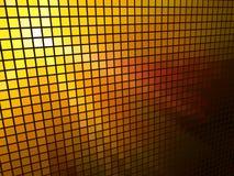 Abstract  orange light mosaic Royalty Free Stock Photo