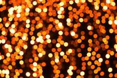 Abstract orange lights Royalty Free Stock Image