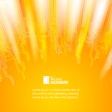 Abstract orange lights background. Stock Photography