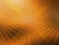 Abstract orange line technology background Stock Photography