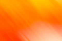 Abstract orange linear motion blur with yellow for backrounds Stock Image