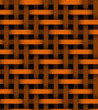 Abstract orange lines on background Royalty Free Stock Photos