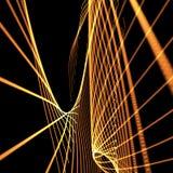 Abstract orange meshy background Stock Photo