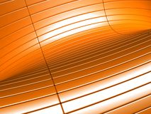 Abstract orange metalic luxury background Royalty Free Stock Photo