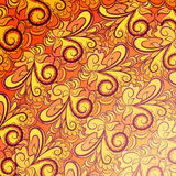 Abstract orange pattern Stock Image