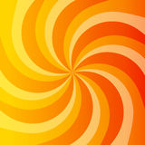 Abstract orange power background Stock Photography