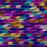 Abstract orange purple white blue color pattern wallpaper Royalty Free Stock Image