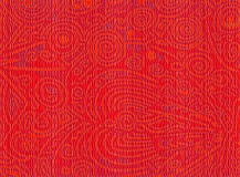 Abstract orange red organics Stock Photos