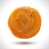 Abstract Orange Shape Royalty Free Stock Photography