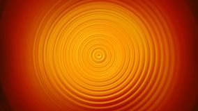 Abstract orange Spin Circle Radial Motion Blur background Royalty Free Stock Photo
