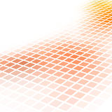 Abstract orange square mosaic Royalty Free Stock Image
