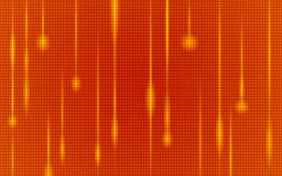 Abstract orange summer with led light pattern Stock Photo