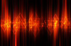 Abstract orange tech background. Abstract orange tech design background stock illustration